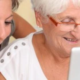 Seguretat a la xarxa per a la gent gran