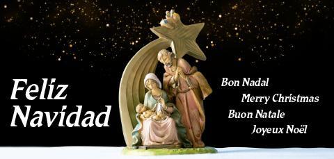 Felicitación de Navidad del IRSJG y la Residència Nazaret