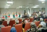 Actuació a càrrec de l'escola de dansa DansaMar a la Residència Nazaret