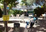 Listos para empezar la gincana del Día Internacional de los Mayores, en la Residencia Nazaret
