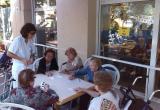 Gincana del Día Internacional de los Mayores, en la Residencia Nazaret