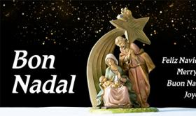 Felicitació per Nadal 2020 de l'IRSJG i la Residència Nazaret